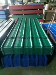 Profil de boîte de toit en acier feuilles / rouleau galvanisé d'acier forgé Feuille de toit de profil
