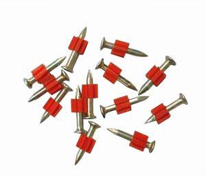 赤い洗濯機が付いている良質のComentの釘の射撃の釘
