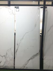 Het glanzende Bouwmateriaal verglaasde de Opgepoetste Tegel van de Keramiek voor de Vloer van de Badkamers (KAT1200P)