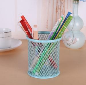 철 순수한 탁상용 저장 펜 홀더 사무실 문구용품