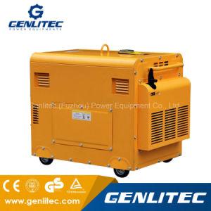 공기는 냉각했다 5000 와트 침묵하는 디젤 엔진 발전기 Portable (DG6700SE)를