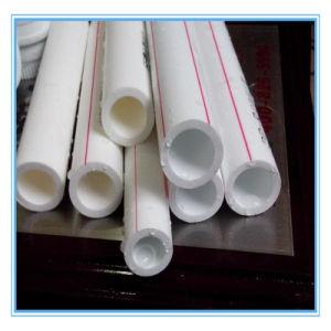 Zwarte Roll Pipe Irrigation Pipe Alkathene Pijp met Plastic Staaf