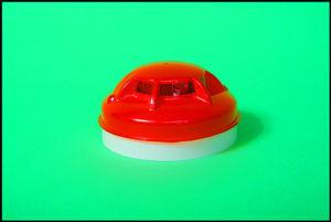 Портативный домашнего использования автономных фотоэлектрический дымовой извещатель DC9V резервного аккумулятора.