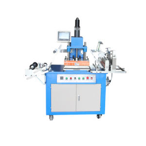 Sistema hidráulico de la placa Número Semiautomática Máquina de estampación en caliente