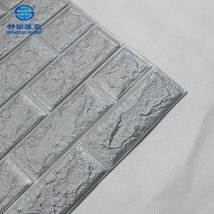 2018 Nouveau motif de briques de paroi de mousse