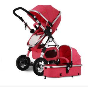 Norma Europeia carrinho de bebé e Baby Car Seat 3 em 1 Carro de bebé