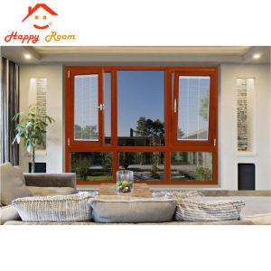 Neuer Entwurfs-klassisches Spitzenlieferanten-Aluminium-/Aluminiumfenster für Haus