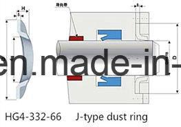 Износ сопротивление R37 ткань резиновые J масляного уплотнения