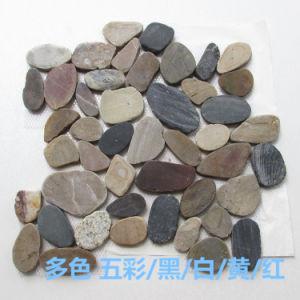 Het Patroon van de Tegel van de Vloer van het Mozaïek van kiezelstenen
