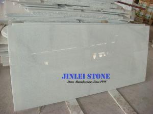 床タイル、大きい平板のための良質の舗装用タイルの大理石のタイルの水晶白い大理石