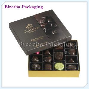 El lujo de papel cartón de embalaje de chocolate caramelos Regalo/caja de embalaje (BP-BC-0036)