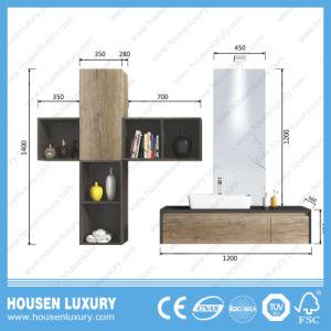 Populärer MDF-variabler Luxuxplatz-kundengerechte Holz-und Lack-Badezimmer-Eitelkeit HS-Q1114-1200