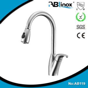 Ablinoxのステンレス鋼の単一のハンドルUpcは台所コックを引き出す