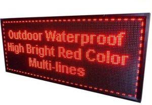 Modulo mobile esterno del segno P10 LED di pubblicità Digital