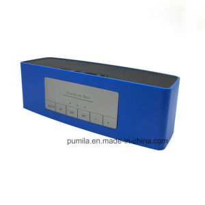 10W beweglicher Bluetooth Minilautsprecher mit intelligenter drahtloser Telefon-Aufruf-Funktion