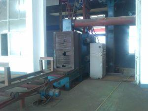 Passaggio con pulizia di superficie, macchina del fascio di H di granigliatura