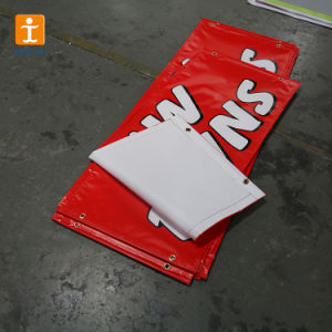 旗を広告する良質PVCビニール
