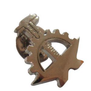 Freies Beispielzink-Legierungs-Goldschwarz-Decklack-Metallbrosche-Abzeichen (241)