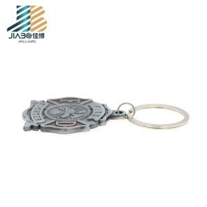 Emergência de liga de zinco Personalizada Jiabo Loja chaveiro