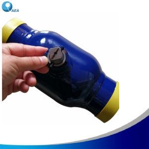 Углеродистая сталь ST37 09g2s Pn16 полной отверстие уменьшается отверстия фланца подключите полностью сварным шаровой клапан для центрального отопления