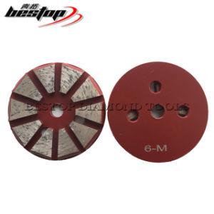 3-дюймовый пол шлифовальные машинки 10 Segs Diamond пола шлифовка полировка дисков для конкретных