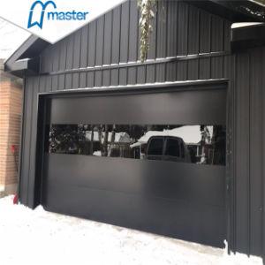 Entraînement du moteur de frais généraux de l'acier Automatique porte de garage sectionnelles