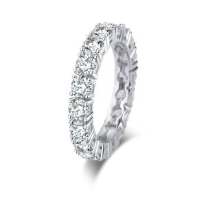 Bisutería 925 Joyería de Plata joyas de diamantes Anillo de lujo