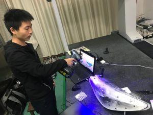 480, scanner tenuto in mano astuto del laser 3D dell'azzurro 000measurements/S per tutte le industrie