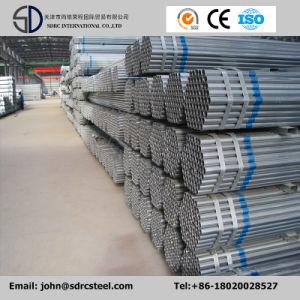 Galvanizado en caliente de la tubería de acero del tubo de acero redondo/Gi/edificio de estructura de tubo
