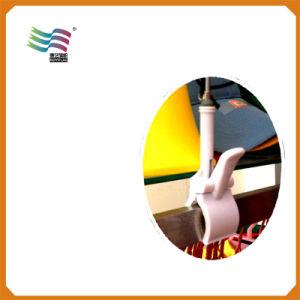 L'abitudine del poliestere ha stampato la pubblicità delle bandierine di goccia della rottura con 3.6m Palo