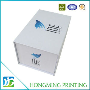 El logo impreso personalizado embalaje de cartón rígido magnético de papel Cajas de Regalo con espuma