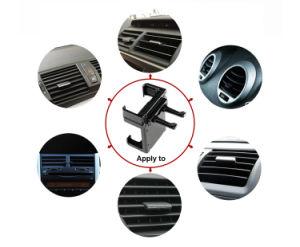 Opening van de Lucht van de Houders van de Auto van het Embleem van de Douane van de Prijs van de fabriek zet de Universele de Houder van de Auto voor iPhone 5 Telefoon 6 7 6+ op