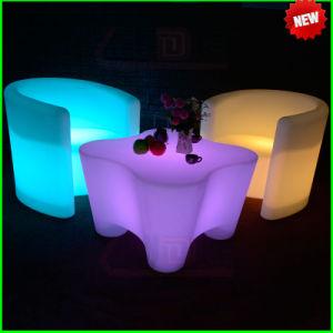 Glühende luxuriöse im Freien LED geleuchtete Möbel
