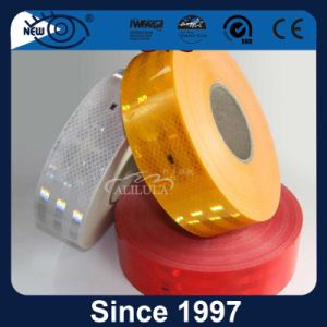 粘着剤の高輝度トラックの反射テープ