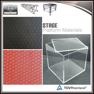 Fase esterna di alluminio del Mobile della fase di concerto di alta qualità