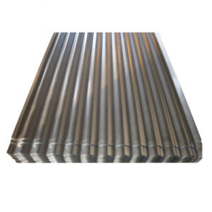 Material de acero Construcción G550 AZ150 Galvalume techos de chapa de acero corrugado