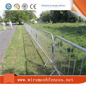 Valla de barricada / multitud Controller / PVC galvanizado llenan las barreras de control