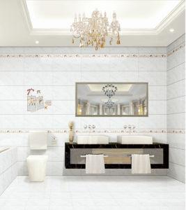 De witte Marmeren Ceramiektegel van de Kleur voor Muur