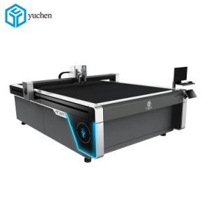 O melhor preço de CNC máquina de corte da Caixa de Papelão Ondulado/Honeycomb/Placa de papel, cartão e cartão cinzento tornando Plotter de corte de embalagens para venda