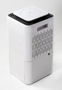 10L/dia de banho desumidificador com tela de toque e função de purificar o ar