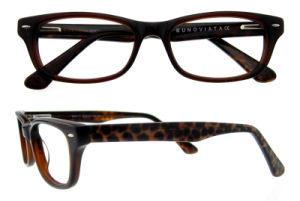 De optische Uitstekende Oogglazen van Eyewear van de Acetaat van de Oogglazen van Frames Met de hand gemaakte