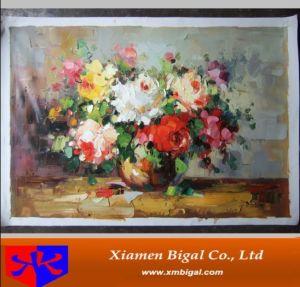 Flor de lona pintura a óleo (BGSL0350)