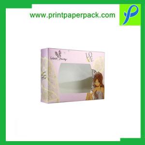 Le pliage du papier d'emballage boîte du logiciel femme Boîte de parfum homme Cologne boîte cadeau avec fenêtre