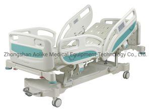 La CE, FDA, ISO13485, mejor calidad de la función de cinco camas de hospital Alk-Ba eléctrico501Eze