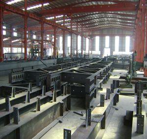 Edificio de la estructura de acero/marco de estructura de acero (SSW-255)
