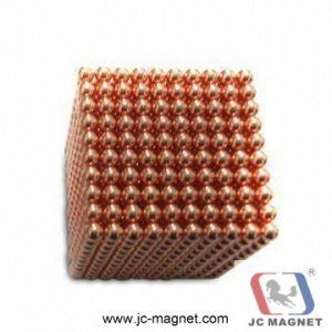 Bola de imán hecho personalizado de alta calidad