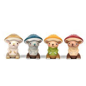 Anime Sofubi personalizadas figuras de vinilo Diseñador de figuras de acción juguetes de PVC