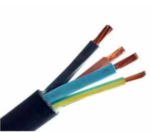 Conducteur en cuivre avec isolation en caoutchouc souple Câble Câble YZ H03RN-F Câble recouvert de caoutchouc