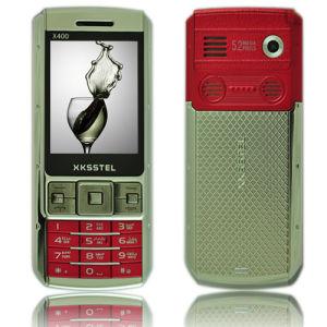 Telefono sbloccato fascia doppia delle cellule del quadrato del X.400 SIM