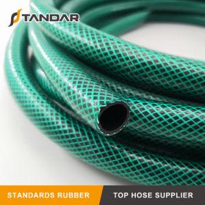 O projeto mais recente de fibra de PVC flexível da pressão de água trançada mangueira de jardim